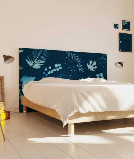 Designer headboard cover sifnos coco hellein myquintus - Surface minimale pour une chambre ...