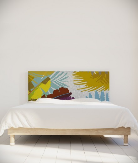 Coco Hellein tête de lit Bananier