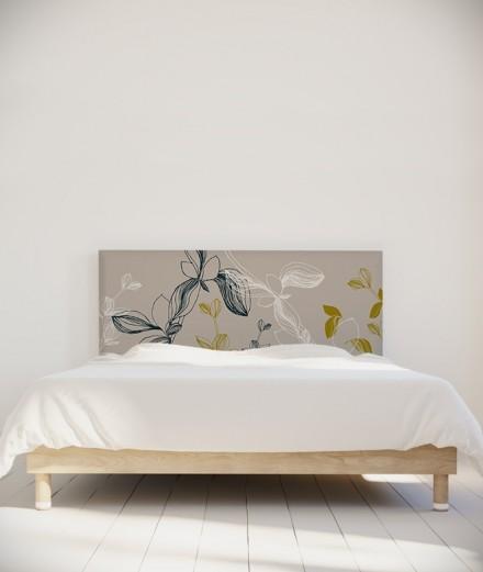 Coco Hellein Tête de lit Prunus