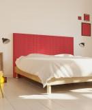 Tête de lit 160 cm Rouge Paraja Kofi