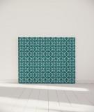 Tête de lit 140 cm Turquoise Paraja Nour