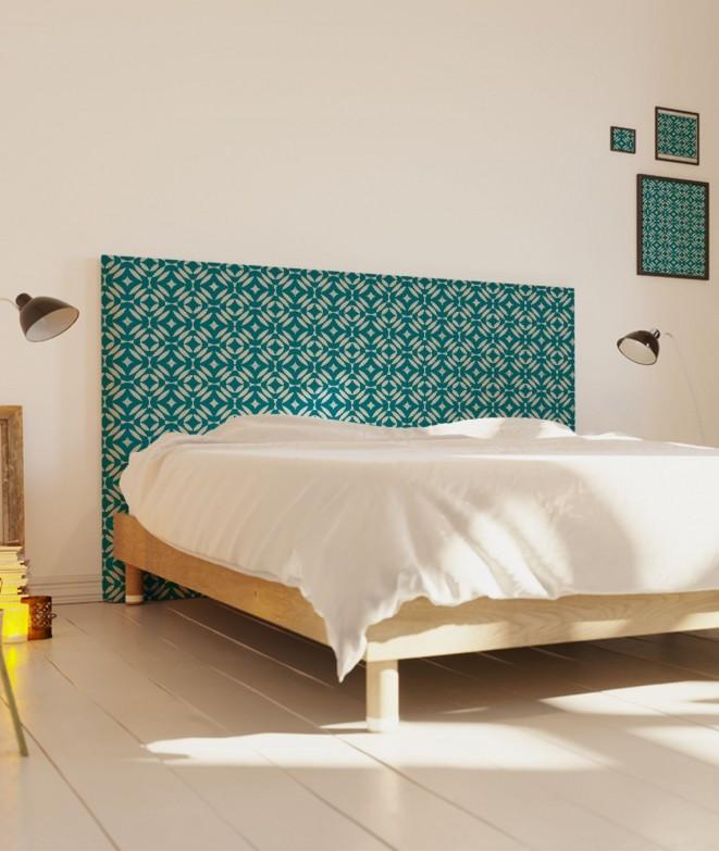 t te de lit imprim style oriental nour paraja myquintus. Black Bedroom Furniture Sets. Home Design Ideas