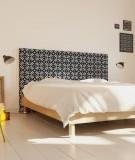 Tête de lit 160 cm Bleu Paraja Nour