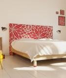 Tête de lit 160 cm Rouge Paraja  Aloe