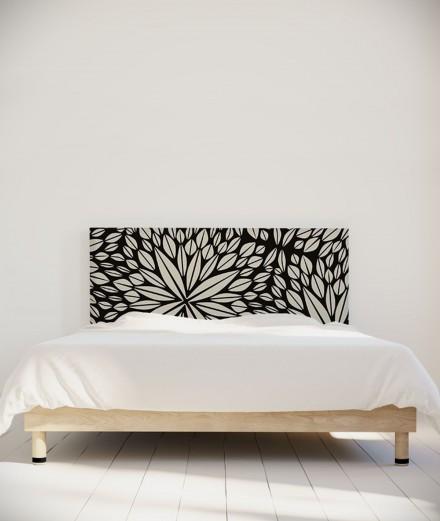 Tête de lit 160 cm Noir Paraja  Aloe