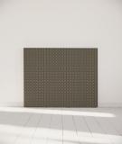 Tête de lit 140 cm Noir Beige Alexia Schroeder Ethnique graphique