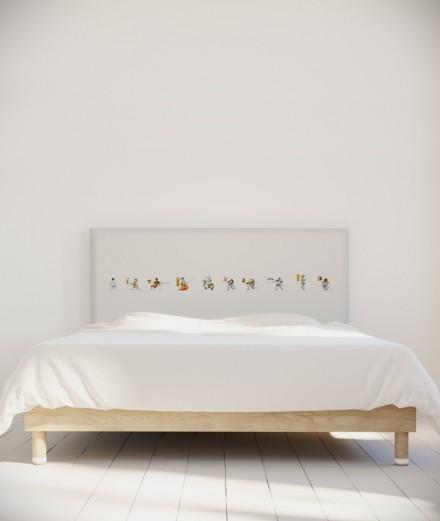 Bastien Massot tête de lit Samouraï