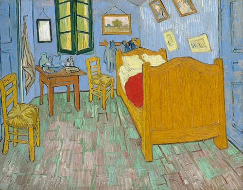 la chambre à Arles par Vincent Van Gogh
