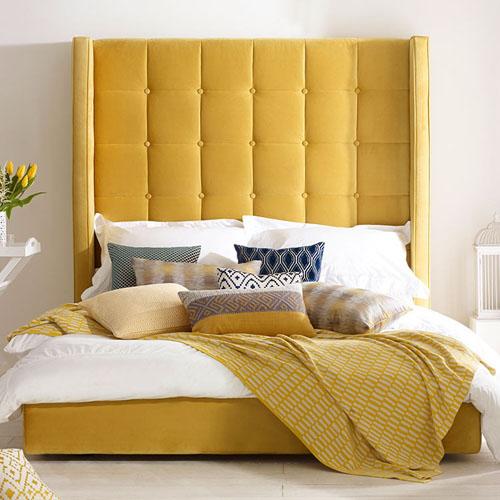 tete-de-lit-jaune-arlo-deco