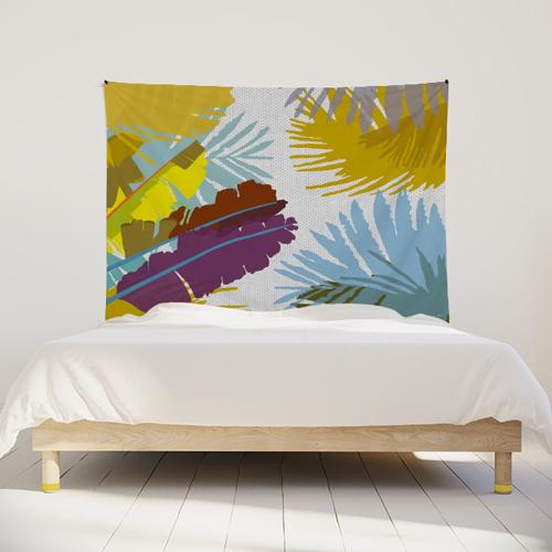 tenture-murale-tapisserie-tropical-bananier