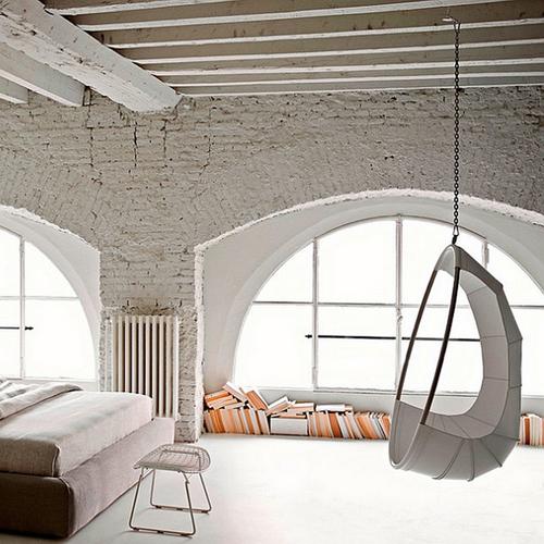 chambre-industrielle-lumineux-blanc-briques-suspendu