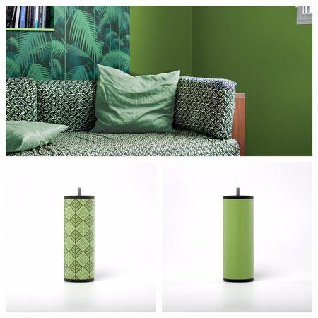 deco pantone greenery