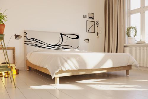 Tête de lit déco style musical - Eclisse
