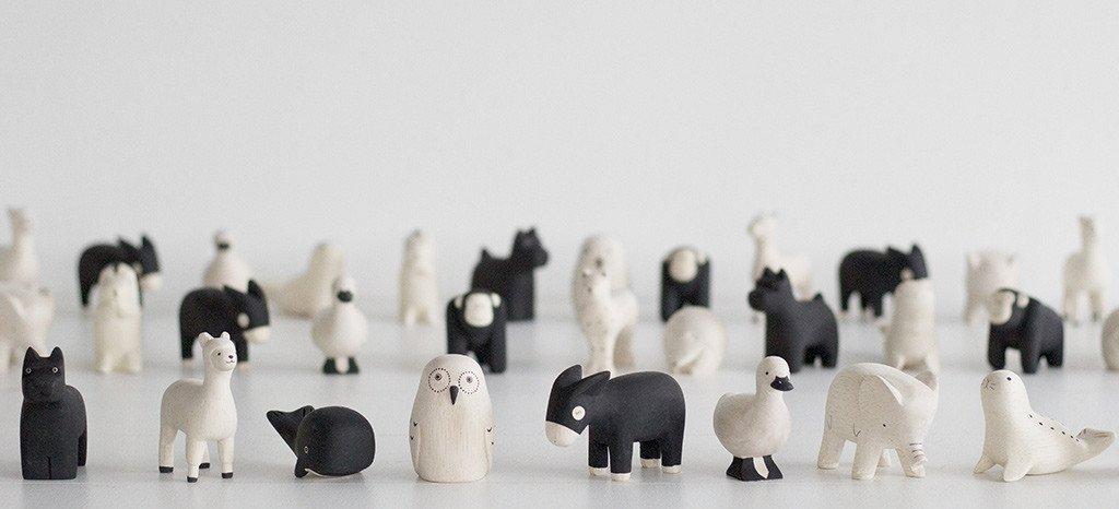 figurines bois tlab