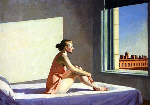 morning sun par Hopper
