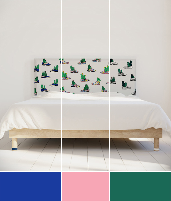 Organe Kauffmann - tête de lit cactus