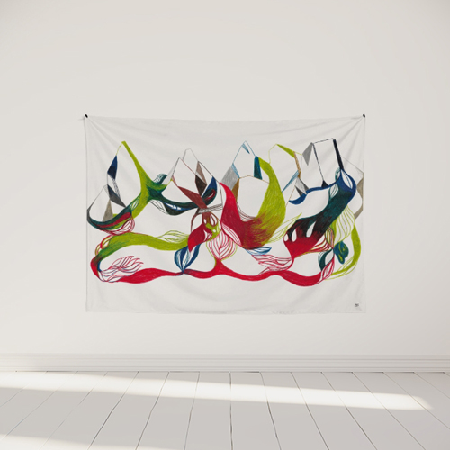 tapisserie-murale-ornement-floral-cocooning