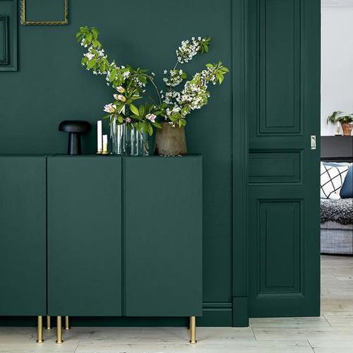 tendance-decoration-interieure-vert-foret-peinture