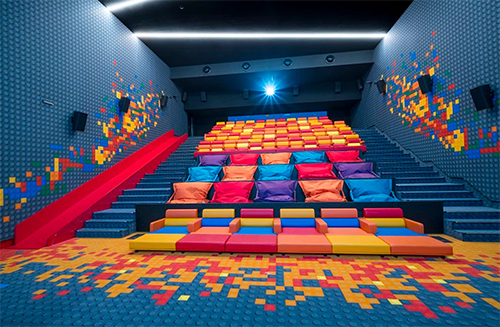 salle de cinéma kids la Joliette