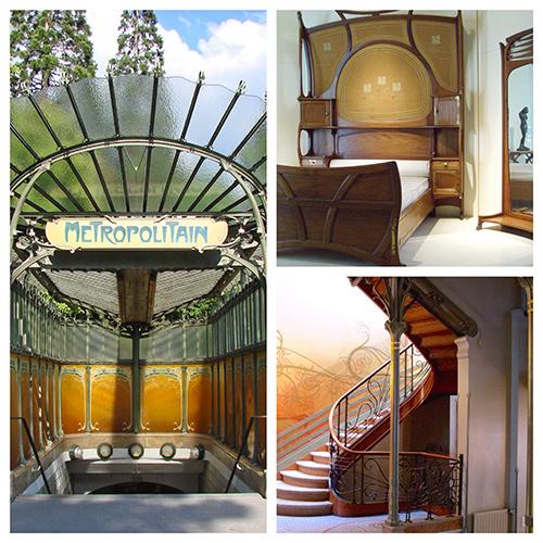 exemples style art nouveau