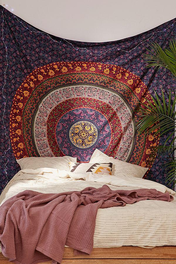 tenture-indienne-tapisserie-murale-deco