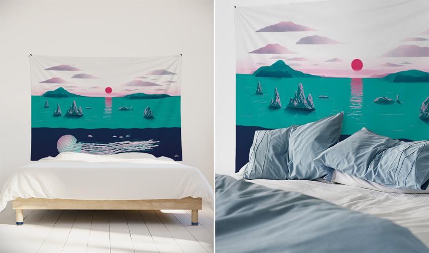 tenture-murale-tissu-tapisserie-nikol-paysage