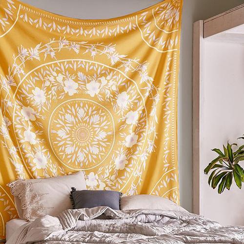 tenture-mandala-fleurs-decoration-murale