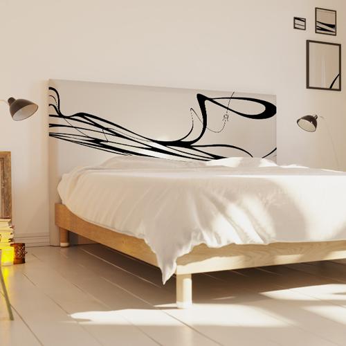 Tendance d co la t te de lit blanche pour une chambre lumineuse myquintus - Tete de lit blanche 160 ...
