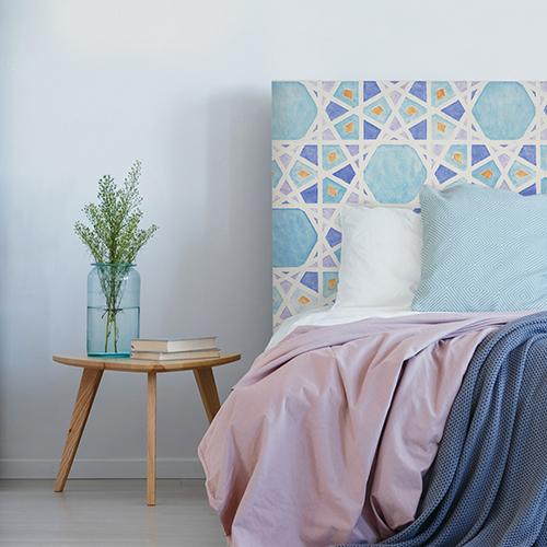 tête de lit Kelibia motif oriental