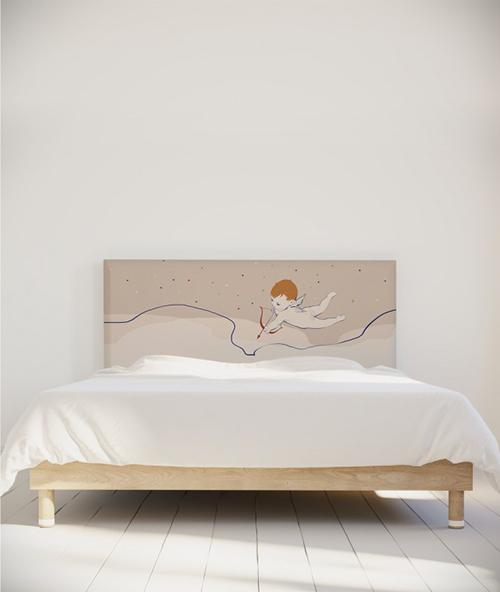 Tête de lit romantique made in France