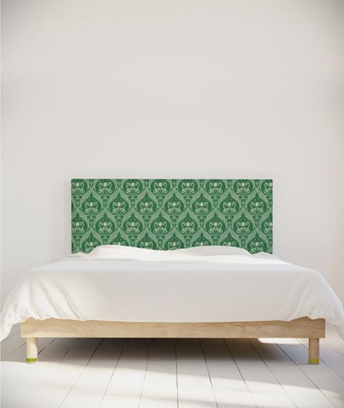 Tête de lit myquintus motif style art nouveau