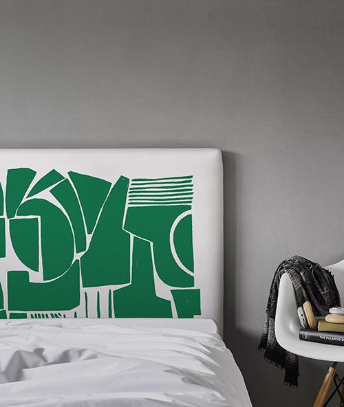 tête de lit déco myQuintus modèle Vertigo