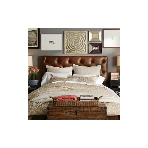 Tendance déco: 5 têtes de lit en cuir pour une ambiance chaleureuse