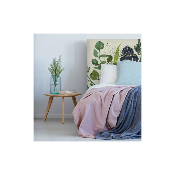 Notre sélection de têtes de lit pour apporter une touche florale à votre chambre