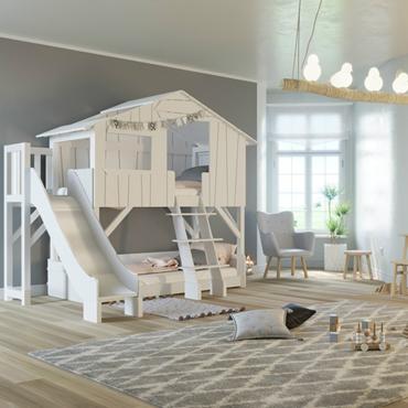 Le lit cabane : la nouvelle tendance qui transforme le lit d\'enfant ...