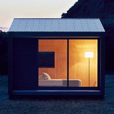 Muji hut l habitat nomade au design minimaliste myquintus for Habitat minimaliste