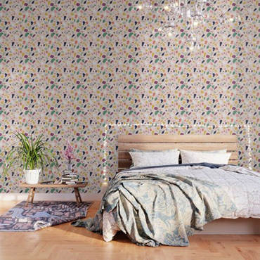 Tendance déco : accordez votre tête de lit avec du papier peint ...