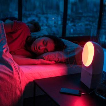 3 lampes connect es id ales pour se lever du bon pied myquintus. Black Bedroom Furniture Sets. Home Design Ideas